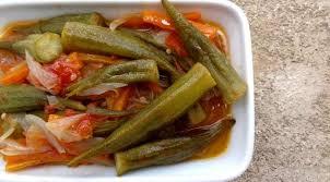 cuisiner des gombos recette de la salade aux gombos turquie la tendresse en cuisine