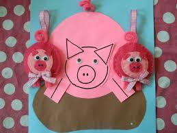 the vintage umbrella christmas ornament series pink pig
