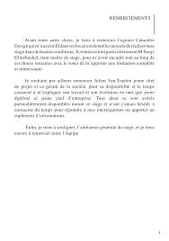 rapport de stage 3eme cuisine déco rapport de stage plomberie conclusion 39 toulon rapport