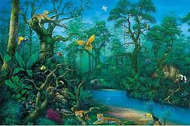 Jungle Backdrop Jungle Backdrop Tikal Set Painting Project Pinterest Photo