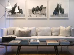 white tufted sofa equestrian interior design equestrian inspired