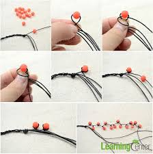 make bracelet with thread images Easy tutorial on making a multi strand string and bead bracelet jpg