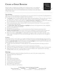 Resume Header Examples by Great Resume Examples Samples Resume Templates