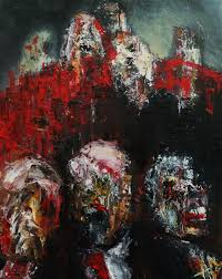 Popular Artwork Alan Derwin Art Where Oil Collides With Canvas At The Speed Of