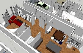 Home Design Using Sketchup Enjoyable Design Ideas Google Sketchup House Interior 3 Planning