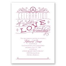 rehearsal dinner invitation and friendship rehearsal dinner invitation invitations by