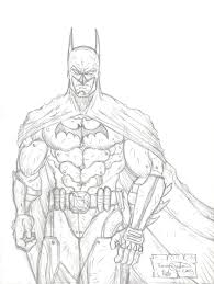 drawn batman detailed pencil and in color drawn batman detailed
