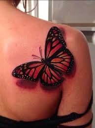 shoulder butterfly designs ideas and meaning tattoos for you