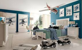 Sports Themed Wall Decor - bedroom attractive blue wall accent toddler sports bedroom