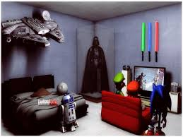 Star Wars Room Decor Ideas by Boys Theme Bedrooms Diy Star Wars Decorations Star Wars Bedroom