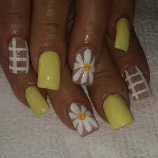 nail art designs for dark skin sunflower nail art designs ideas