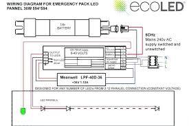 easy power emergency light power supply circuit on led light emergency lighting wiring diagram