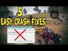 pubg keeps crashing 5 easy ultimate pubg crash fixes youtube