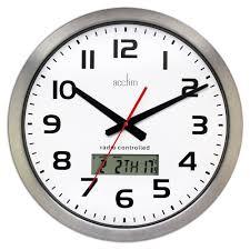 wall clocks radio controlled pictures u2013 wall clocks