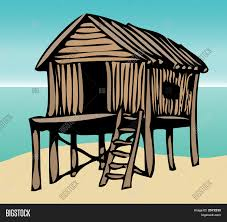 Beach Houses On Stilts by Beach House Stock Vector U0026 Stock Photos Bigstock