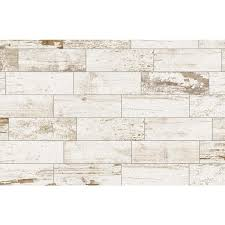 shop del conca southend white wood look porcelain floor and wall