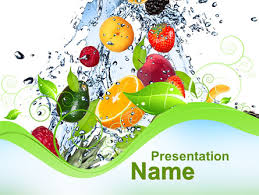 summer fruits presentation template for powerpoint and keynote