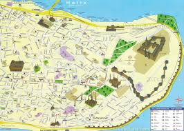 Bosphorus Strait Map Istanbul Maps Top Tourist Attractions Free Printable City