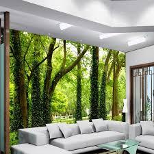 home decor walls beautiful woods wallpaper custom wall mural nature landscape photo