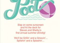 free pool party invitations