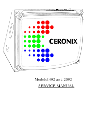 xx92 service manual amplifier power supply