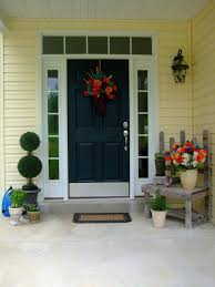 house front door blue front door for a warm and friendly house homestylediary com