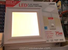 Costco Led Light Fixture Costco Led Light Fixture And Feit Led Flat Panel 15 X Weekender