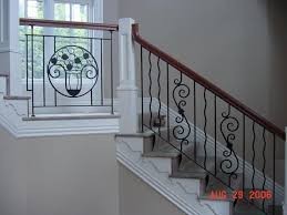 home interior railings iron stair railing tempting candles entry floating stairs for