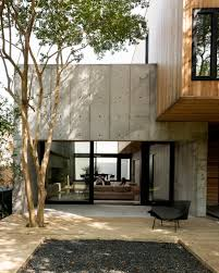 japanese design concrete box house influenced by japanese design