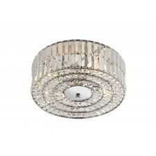 Dar Bathroom Lighting The Lighting Book Errol Circular Crystal Light For Low Ceilings