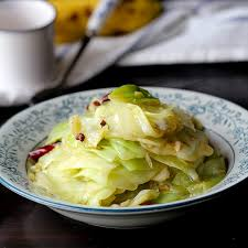 chinese style cabbage stir fry china sichuan food