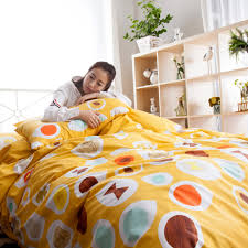 High Quality Cotton Sheets Online Get Cheap Yellow Printed Sheets Aliexpress Com Alibaba Group
