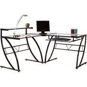 White Art Desk Ellis Student Computer Desk Black And White Walmart Com