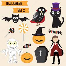happy halloween vector happy halloween background with cute little vampire vector ill