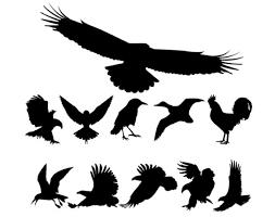 imagenes vectoriales gratis aves siluetas vectoriales gratis descargar vectores gratis