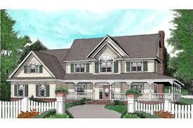 Farm Style House by Farmhouse Style House Plan 4 Beds 2 50 Baths 2579 Sq Ft Plan 11 123