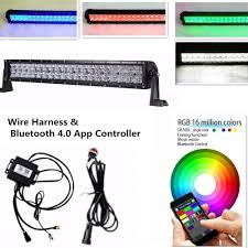 Led Light Bar Color Changing by Amazon Com Iov Light 22 Inch 120w 5d Cree Led Light Bar Combo