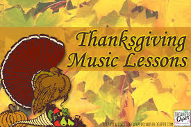 a thanksgiving song my favorite thanksgiving music lessons organized chaos