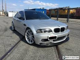 bmw m3 e46 2002 2002 bmw m3 e46 m3 slick top 6 speed manual dinan for sale in
