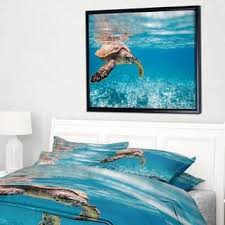 Sea Turtle Bed Sheets New Products Oversized Tropical At Overstock Com