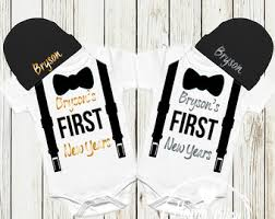 new year baby clothes baby boy clothes etsy
