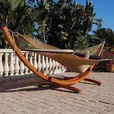 siberian larch wood arc hammock stand caribbeanjumbohammocks com