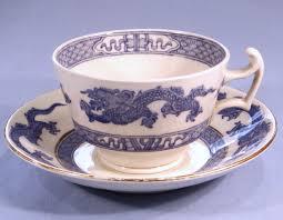 cauldon chinese dragon vintage bone china milk jug cream jug