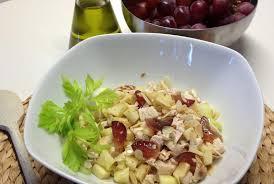 insalata di sedano e mele ricetta insalata di pollo con sedano mele e uva chef per una
