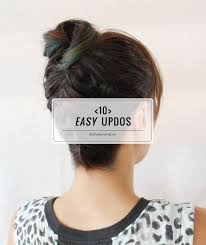 step by step easy updos for thin hair 10 easy updos you can actually do with 2 hands hello glow