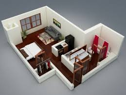 Types Of Home Interior Design 50 Studio Type Single Room House Lay Out And Interior Design