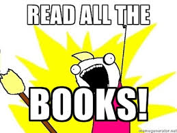 Reading Book Meme - 2014 a year in reading broke by books