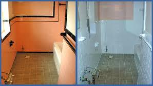Reglazing Bathroom Tile Bayside Bath Refinishing Home Reglazing Tubs Sinks Wall Tile