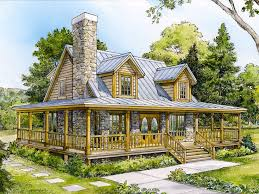 country cabin floor plans country home plans two story country house plan design 008h