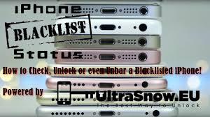 blacklist iphone unlock 2017